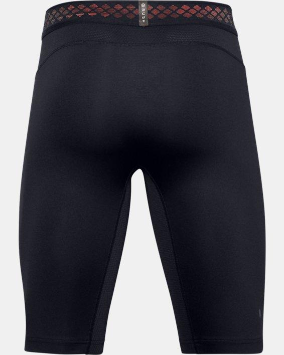 Herren UA RUSH™ HeatGear® 2.0 Lange Shorts, Black, pdpMainDesktop image number 4