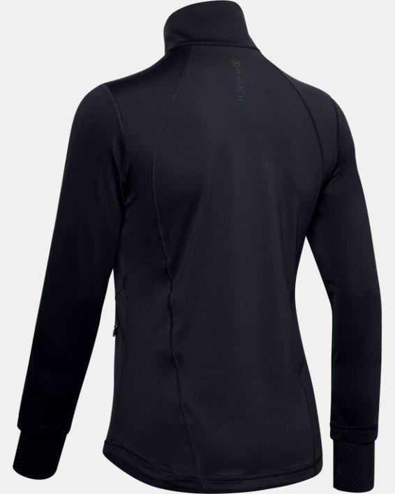 Veste UA RUSH™ Full Zip pour femme, Black, pdpMainDesktop image number 1