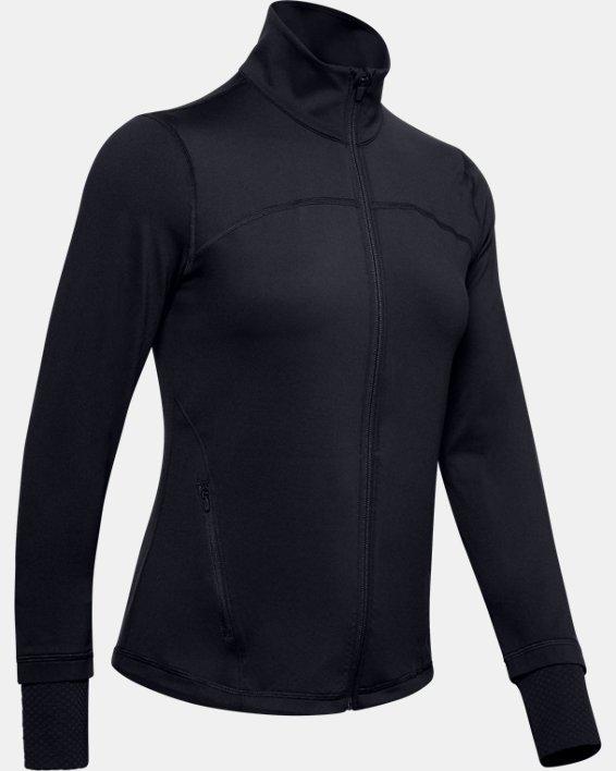 Veste UA RUSH™ Full Zip pour femme, Black, pdpMainDesktop image number 0