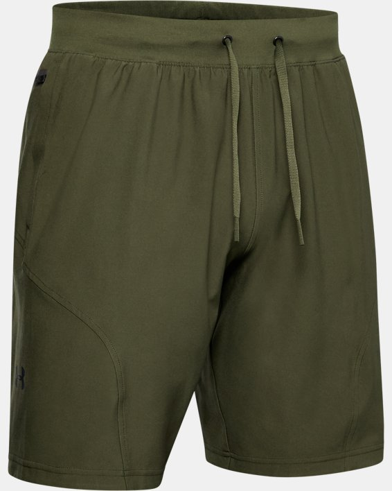Men's Project Rock Unstoppable Shorts, Green, pdpMainDesktop image number 3