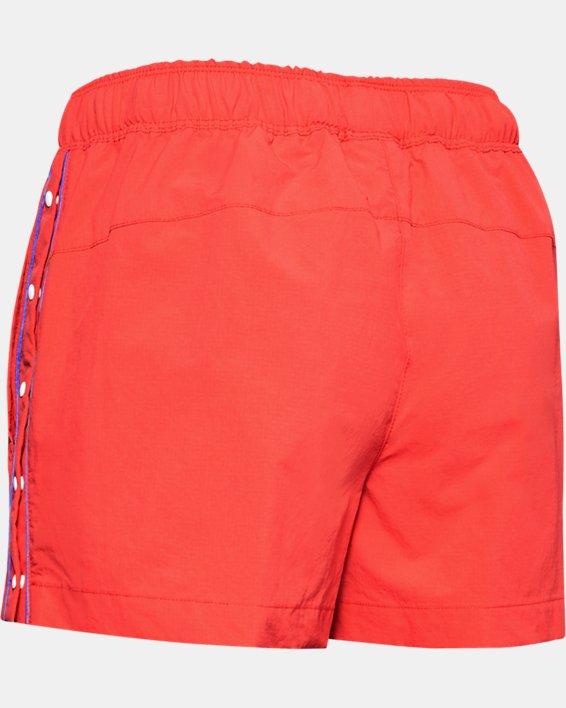 Women's UA Summit Woven Shorts, Red, pdpMainDesktop image number 5