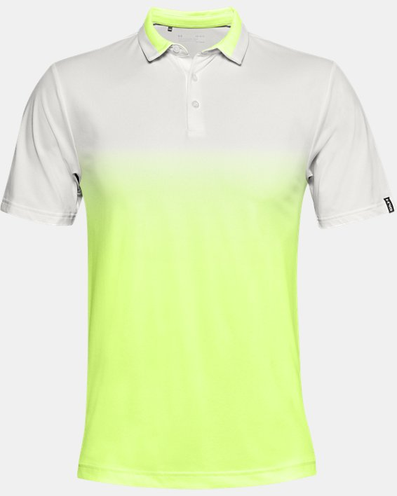 Men's UA Range Unlimited Fade Polo, White, pdpMainDesktop image number 3