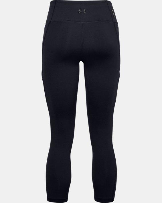 Women's UA HydraFuse Ankle Leggings, Black, pdpMainDesktop image number 4