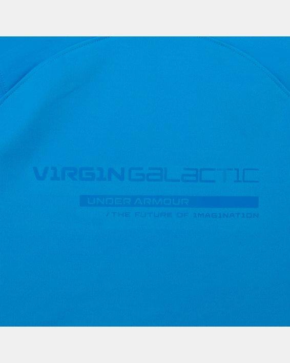 Men's UA + Virgin Galactic RUSH™ Short Sleeve, Blue, pdpMainDesktop image number 8