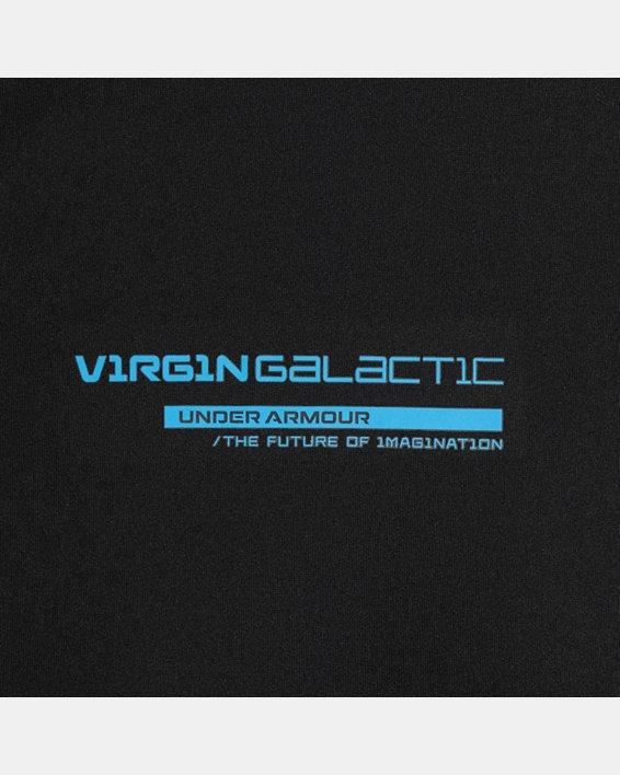 Men's UA + Virgin Galactic Pocket Short Sleeve, Black, pdpMainDesktop image number 8