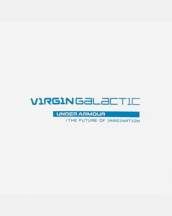 Men's UA + Virgin Galactic Pocket Short Sleeve, White, pdpMainDesktop image number 8