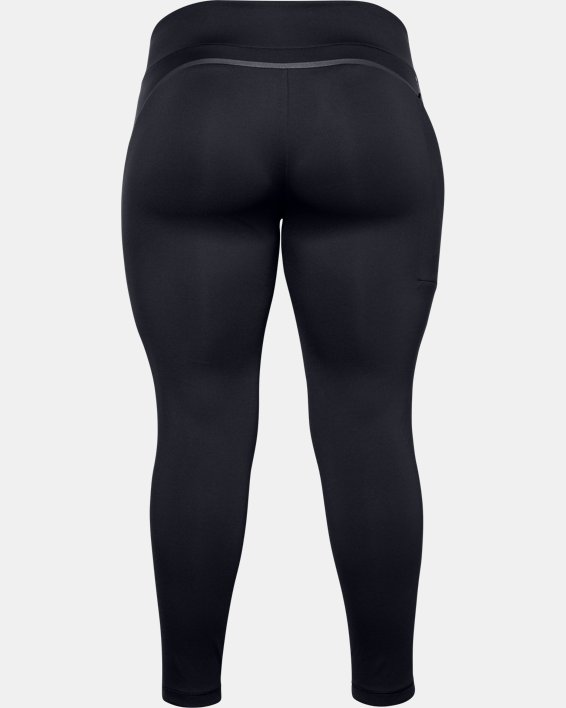 Women's UA + Virgin Galactic RECOVER™ Ponte Pants, Black, pdpMainDesktop image number 5