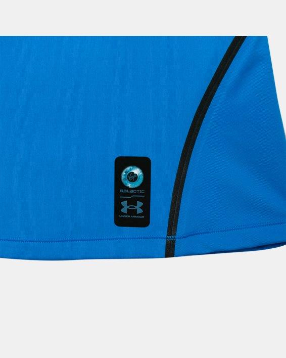 Women's UA + Virgin Galactic RUSH™ Short Sleeve, Blue, pdpMainDesktop image number 8