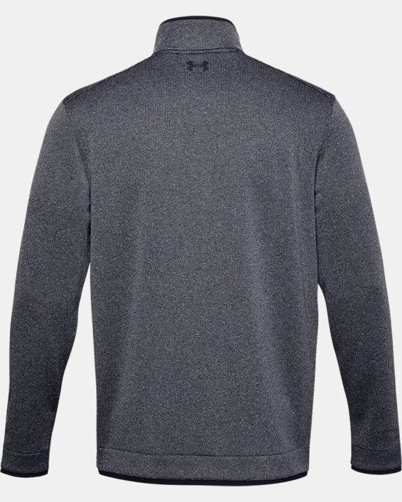 Men's UA Storm SweaterFleece ½ Zip, Black, pdpMainDesktop image number 6