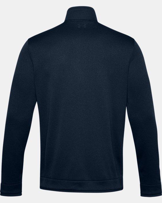 Men's UA Storm SweaterFleece ½ Zip, Navy, pdpMainDesktop image number 5