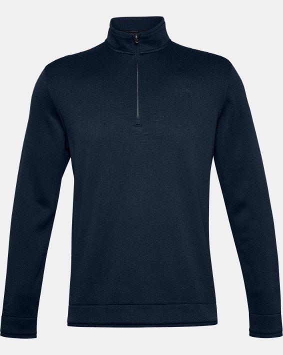 Men's UA Storm SweaterFleece ½ Zip, Navy, pdpMainDesktop image number 4
