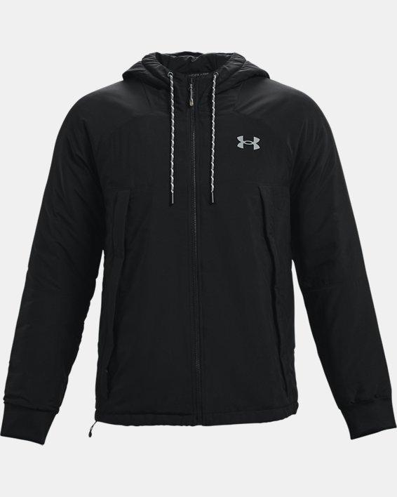 Men's UA Sky Insulate Jacket, Black, pdpMainDesktop image number 4