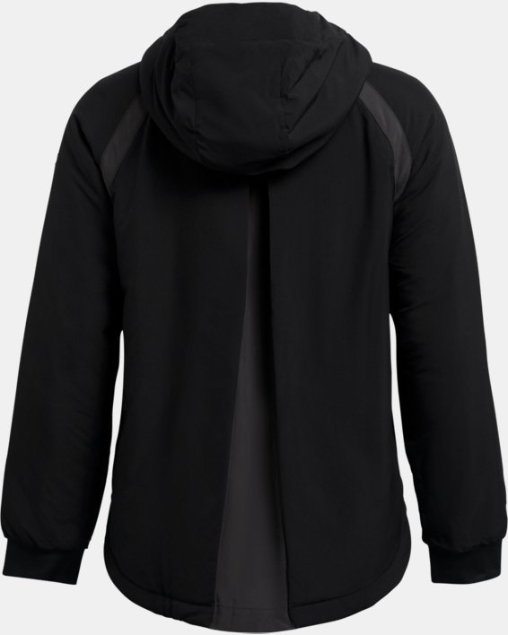 Women's UA Sky Insulate Jacket, Black, pdpMainDesktop image number 4