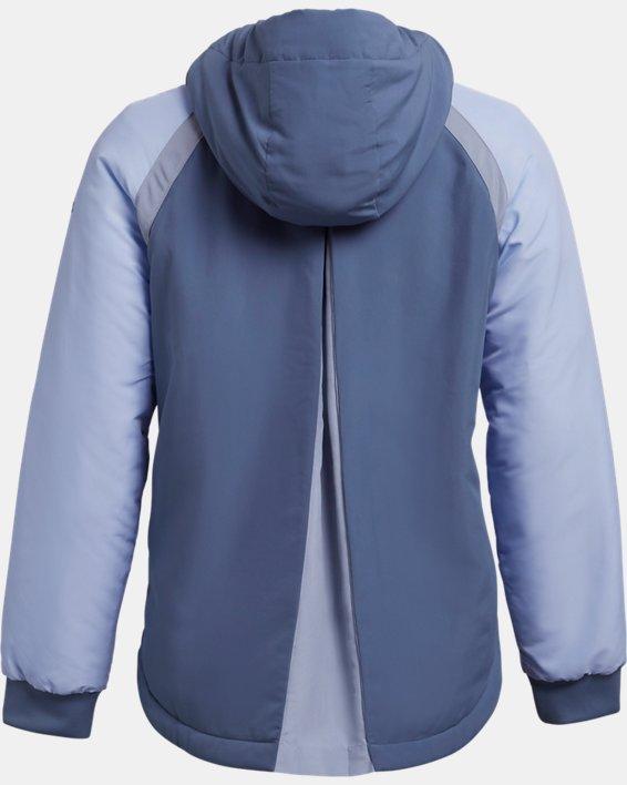 Women's UA Sky Insulate Jacket, Blue, pdpMainDesktop image number 4