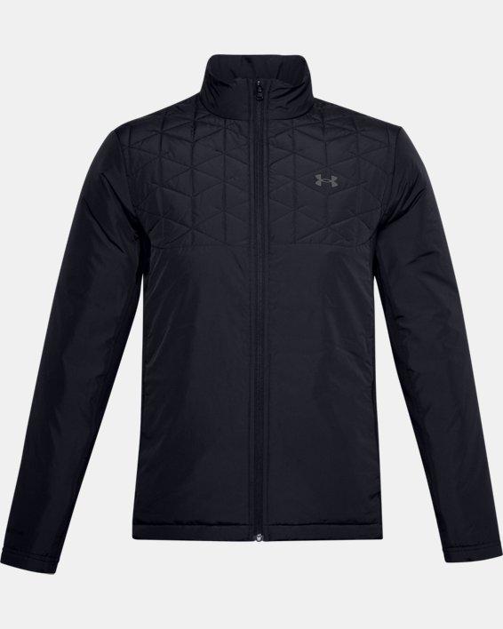 Men's ColdGear® Reactor Golf Hybrid Jacket, Black, pdpMainDesktop image number 3