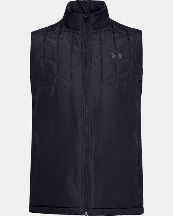 Men's ColdGear® Reactor Golf Hybrid Vest, Black, pdpMainDesktop image number 3