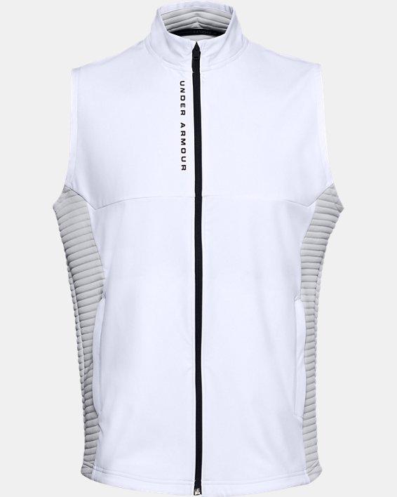Men's UA Storm Evolution Daytona Vest, White, pdpMainDesktop image number 0