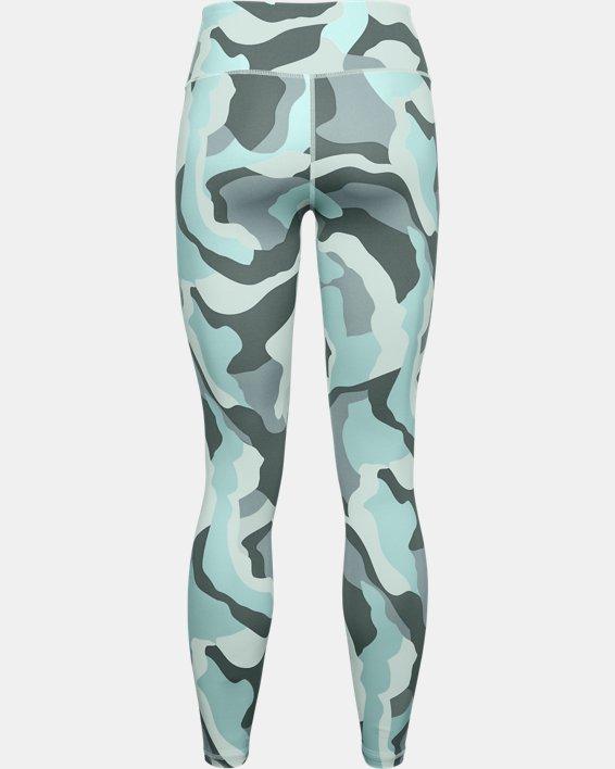 Legging UA RUSH™ Camo pour femme, Blue, pdpMainDesktop image number 4