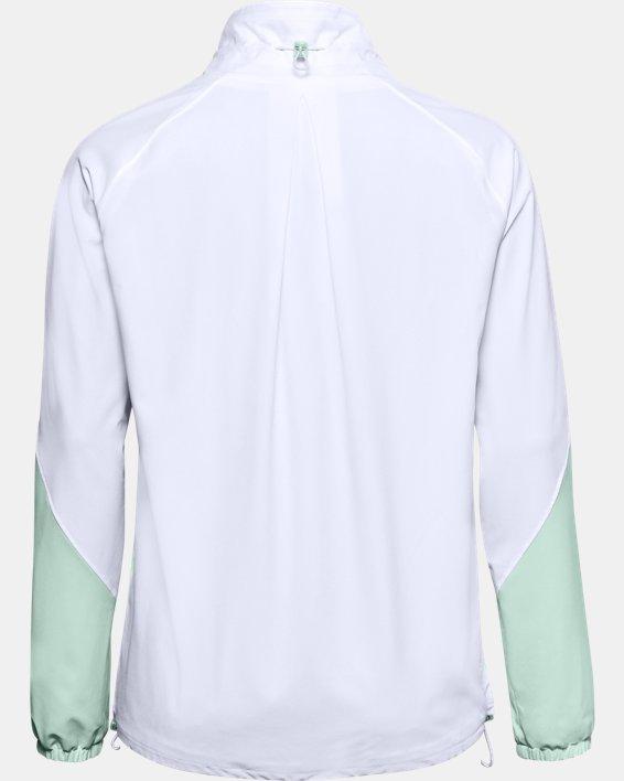 Women's UA RECOVER™ Woven CB Jacket, White, pdpMainDesktop image number 6