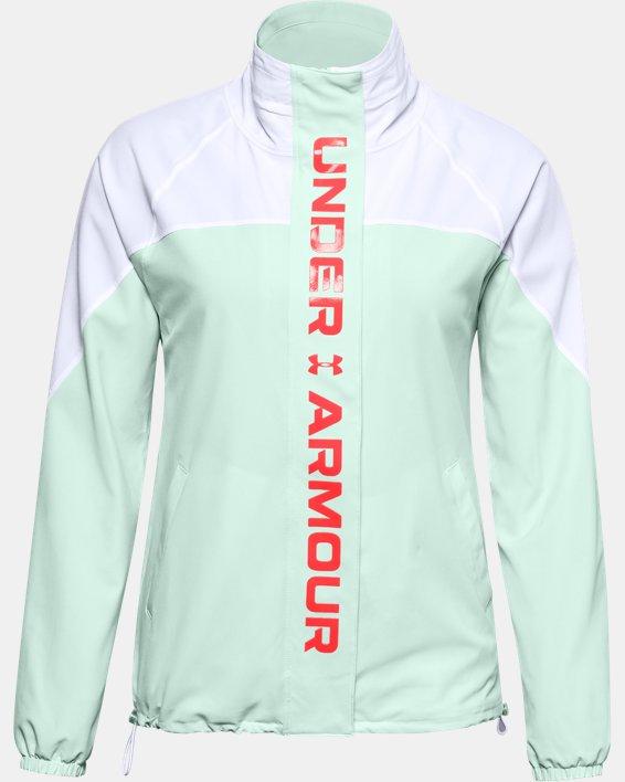 Women's UA RECOVER™ Woven CB Jacket, White, pdpMainDesktop image number 5