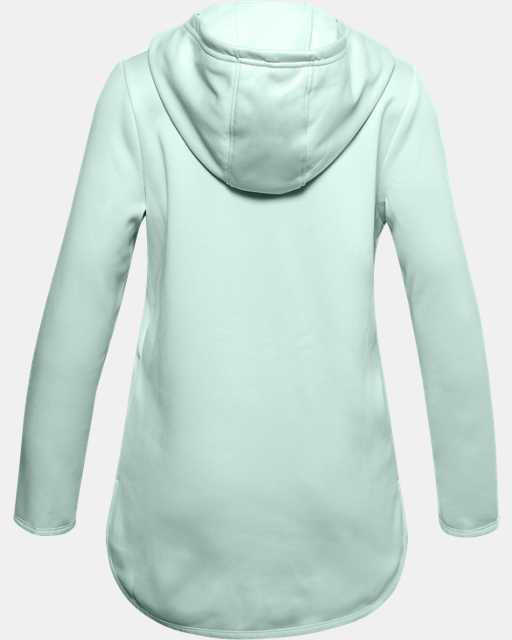 Girls' Armour Fleece® Graphic Wordmark Hoodie