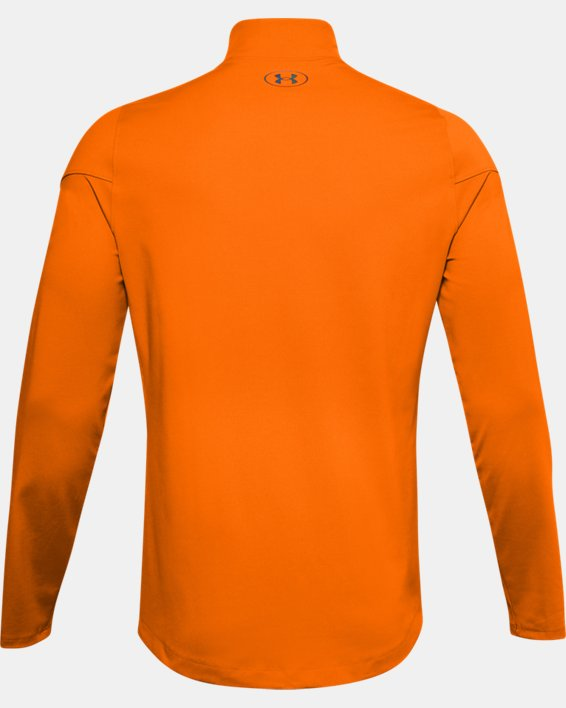 Baselayer à col montant UA RUSH™ ColdGear® 2.0 pour homme, Orange, pdpMainDesktop image number 5