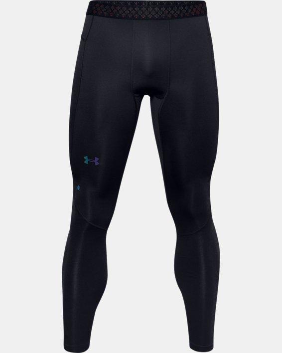 Men's UA RUSH™ ColdGear® 2.0 Leggings, Black, pdpMainDesktop image number 3