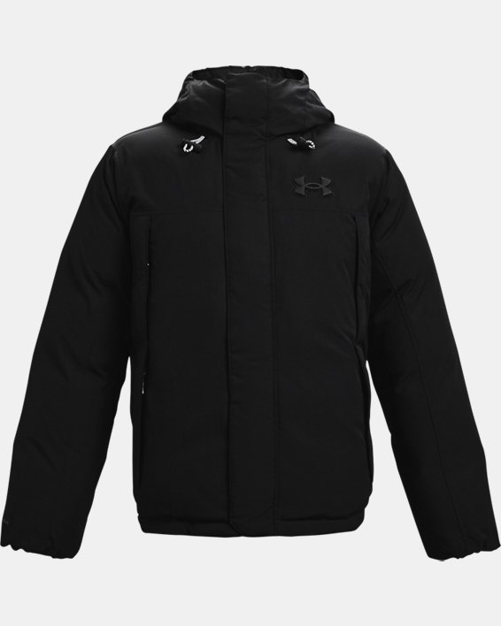 Men's UA Lock Down Jacket, Black, pdpMainDesktop image number 3