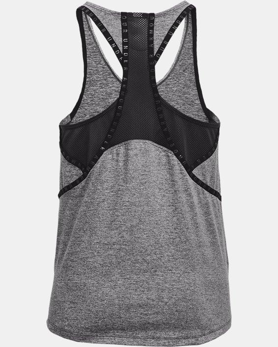 Camiseta sin mangas UA Knockout Mesh para mujer, Gray, pdpMainDesktop image number 5