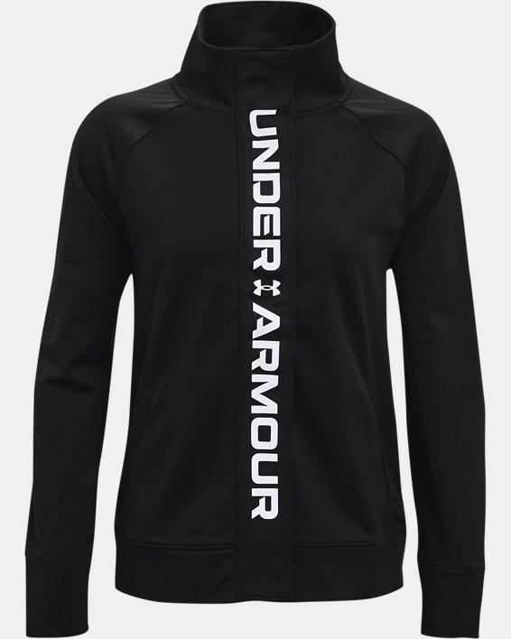 Veste en tricot UA RECOVER™ pour femme, Black, pdpMainDesktop image number 4