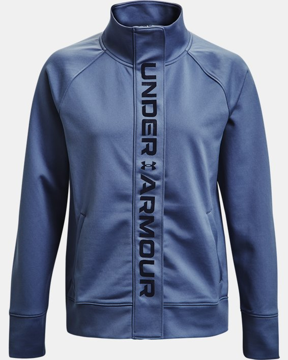 Chaqueta UA RECOVER™ Tricot para mujer, Blue, pdpMainDesktop image number 3