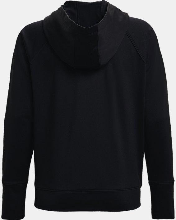 Women's UA Tricot Jacket, Black, pdpMainDesktop image number 4