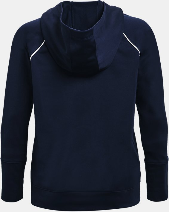 Women's UA Tricot Jacket, Navy, pdpMainDesktop image number 4