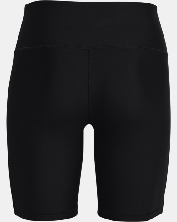 Women's HeatGear® Armour Bike Shorts, Black, pdpMainDesktop image number 5