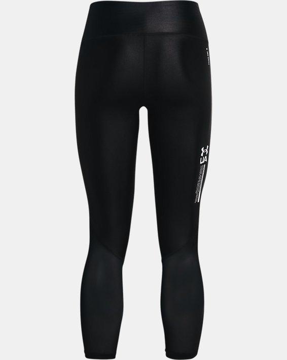 Women's UA Iso-Chill Ankle Leggings, Black, pdpMainDesktop image number 5