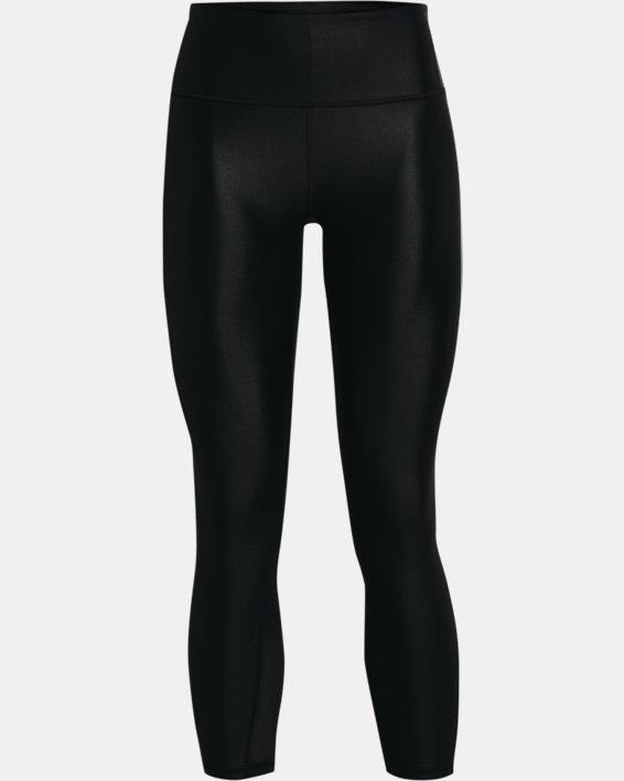 Women's UA Iso-Chill Ankle Leggings, Black, pdpMainDesktop image number 4