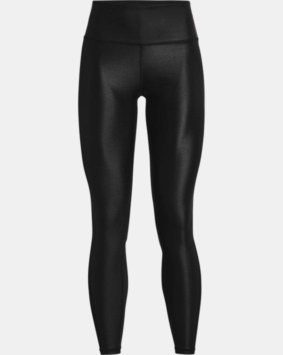 Women's UA Iso-Chill Full-Length Leggings, Black, pdpMainDesktop image number 4