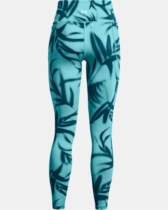 Damen UA Meridian Printed Leggings (lang), Green, pdpMainDesktop image number 5