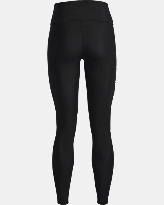 Leggings HeatGear® Armour No-Slip Waistband Branded Full-Length da donna, Black, pdpMainDesktop image number 5