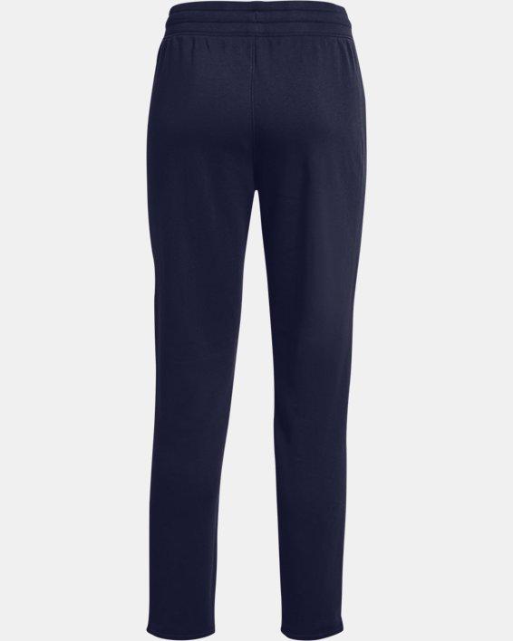 Women's UA Rival Fleece Gradient Pants, Navy, pdpMainDesktop image number 5
