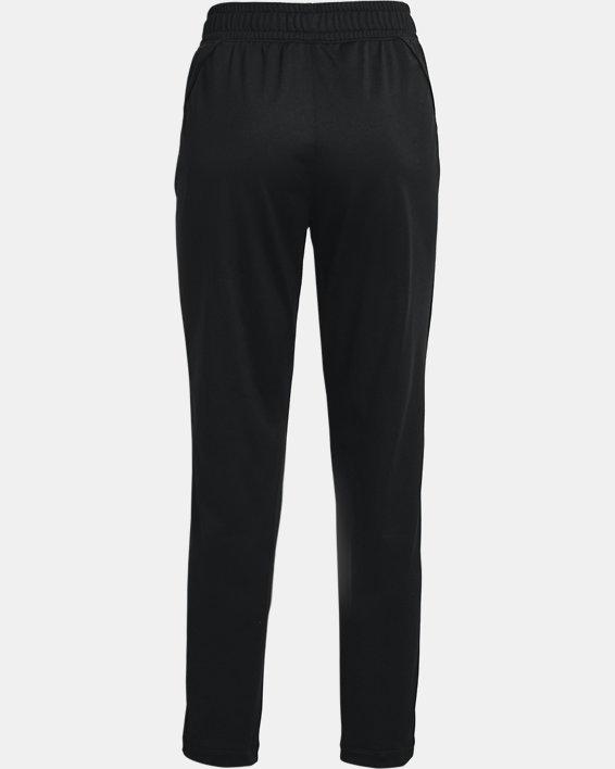 Women's UA Tricot Pants, Black, pdpMainDesktop image number 5