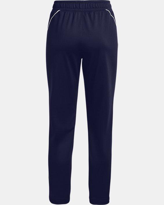 Women's UA Tricot Pants, Navy, pdpMainDesktop image number 5