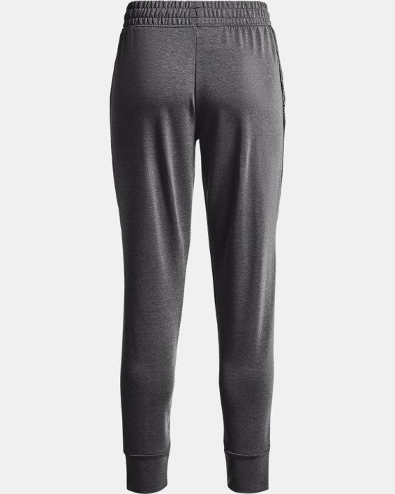 Women's UA Rival Terry Taped Pants, Gray, pdpMainDesktop image number 5