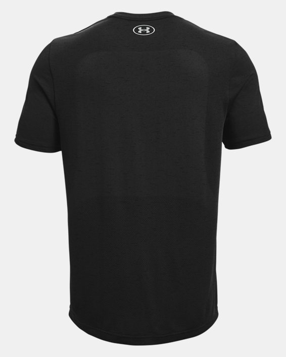 Men's UA Seamless Short Sleeve, Black, pdpMainDesktop image number 5