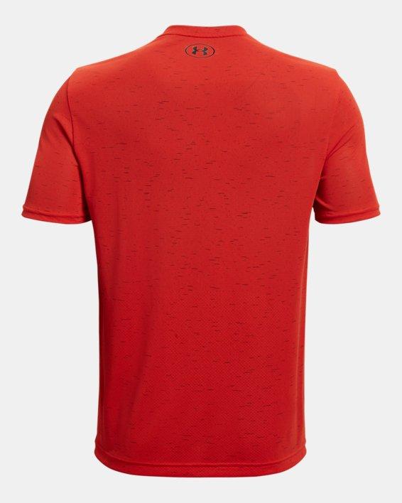Men's UA Seamless Short Sleeve, Orange, pdpMainDesktop image number 4