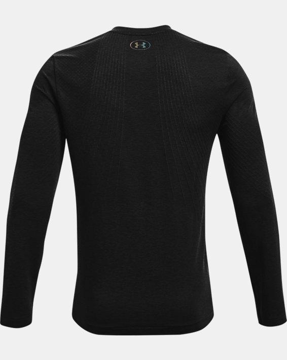 Men's UA RUSH™ Seamless Long Sleeve, Black, pdpMainDesktop image number 5