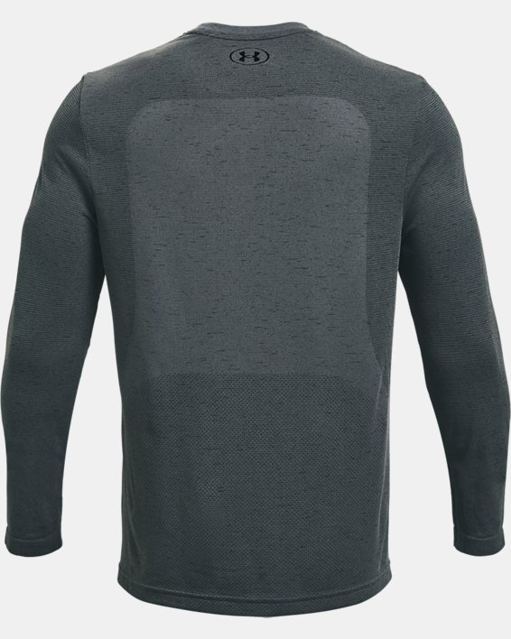 Men's UA Seamless Long Sleeve, Gray, pdpMainDesktop image number 5