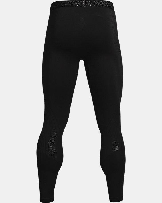 Men's UA RUSH™ Seamless Leggings, Black, pdpMainDesktop image number 4