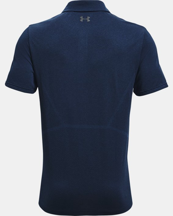 Polo UAVanish Seamless Mapped pour homme, Navy, pdpMainDesktop image number 4