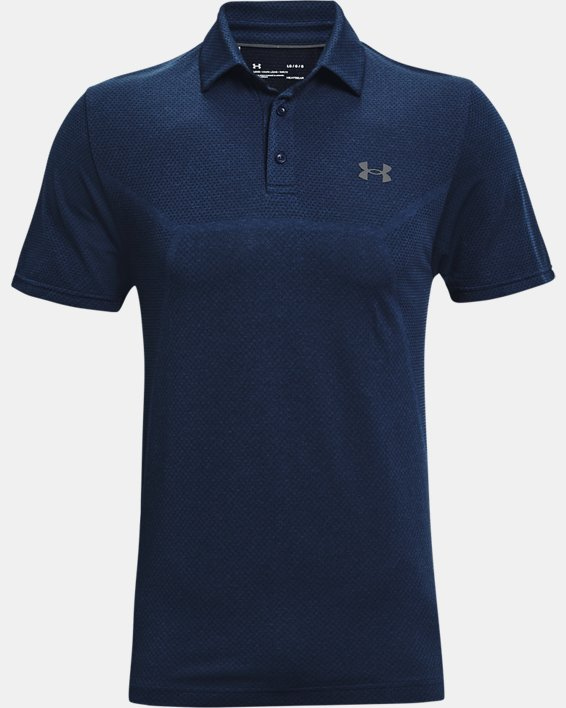 Polo UAVanish Seamless Mapped pour homme, Navy, pdpMainDesktop image number 3